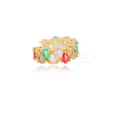 Piercing Falso Gotas Colors Gold (unidade)