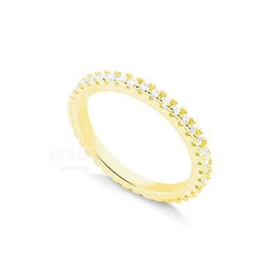 Aliança Slim Luxo Gold