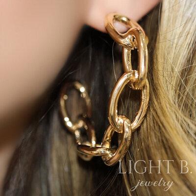 Argola Elos Gold