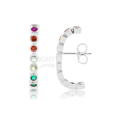Ear Hook Cravação Inglesa Rainbow