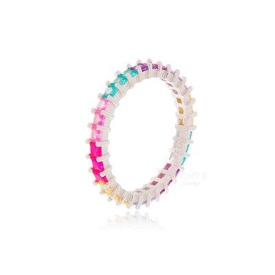 Aliança Princess Rainbow Candy