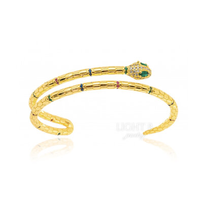 Bracelete Cobra Gold