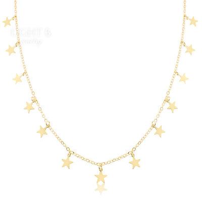 Choker Estrelinhas Gold