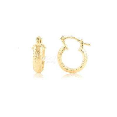 Argolinha Fosca Gold Luxo