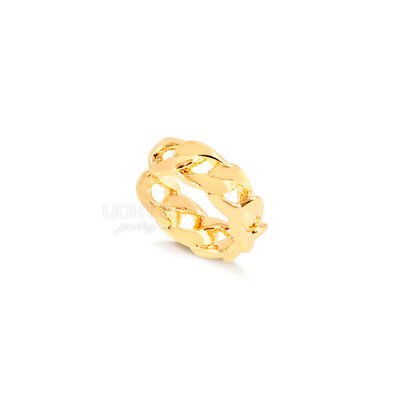 Piercing Falso Links Gold (unidade)