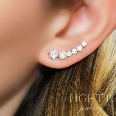 Ear Cuff Lights Decrescente