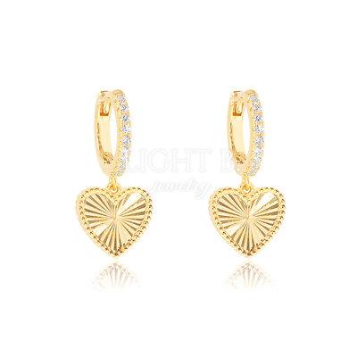 Argolinha Heart Gold