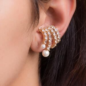 Brinco Ear Hook Multi Filetes