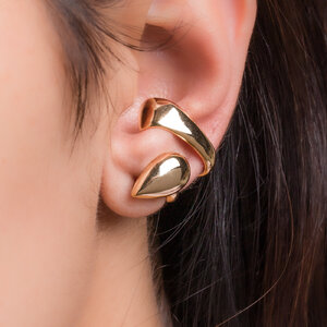 Brinco Ear Hook Duplo