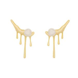 Brinco Ear Cuff Pearl