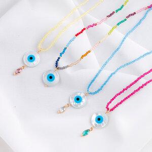 Look Colares Olhos Gregos
