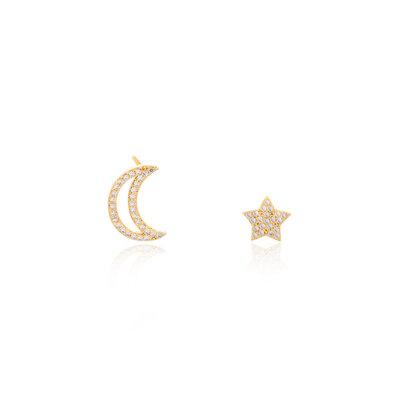 Brinco Estrela & Lua