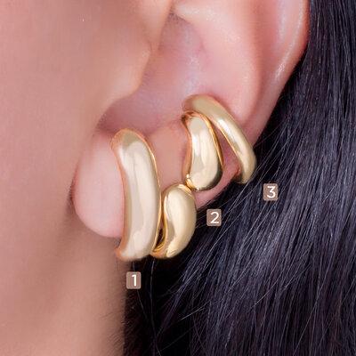 Brinco Ear Hook Liso
