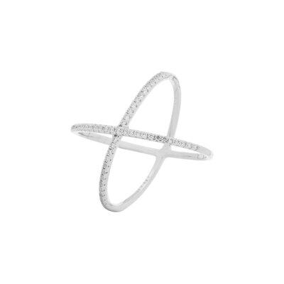 Anel X Micro Cravejado