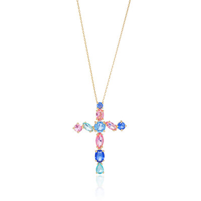 Colar Crucifixo Colors