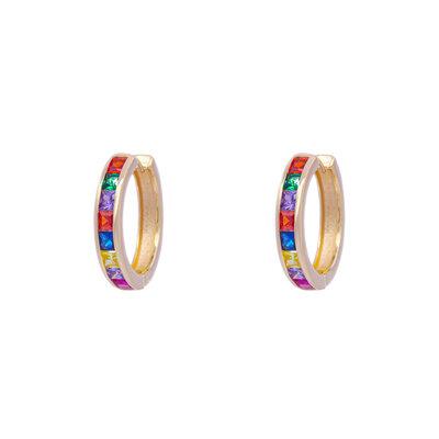 Brinco Argola Rainbow