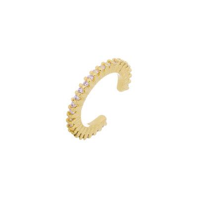 Piercing Filetes Micro Cravejado