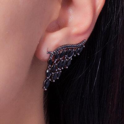 Brinco Ear Cuff Meia Asa