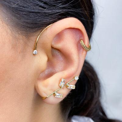 Brinco Ear Cuff Natana