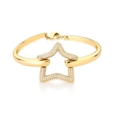 Bracelete Estrela Micro Cravejada