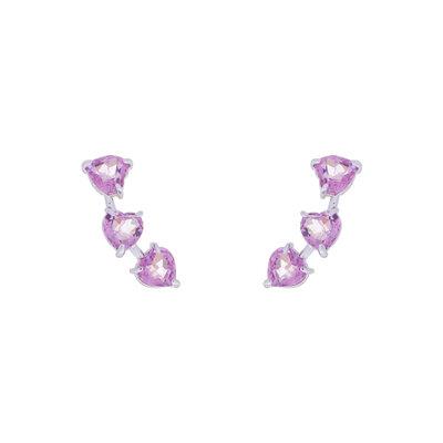 Brinco Ear Cuff Heart