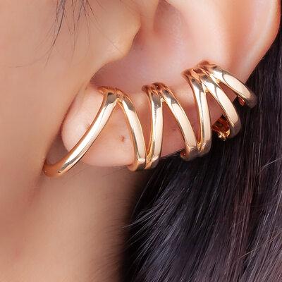 Brinco Ear Cuff Silvia Gold