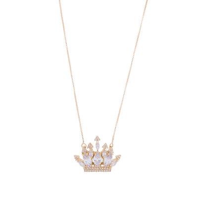 Colar Coroa Princesa