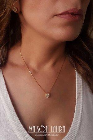Coleção Hearts Cristal - Ouro Amarelo 18K