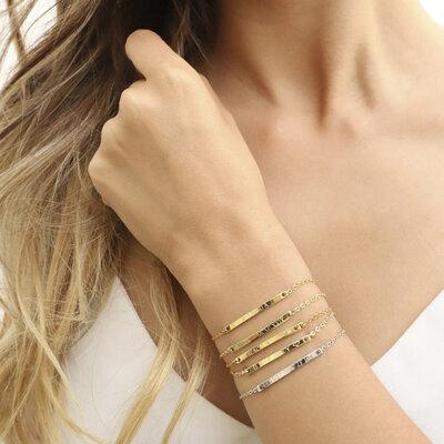 Pulseira Placa Bracelet
