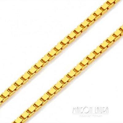 Corrente Veneziana 45 Cm Ouro Amarelo 18K