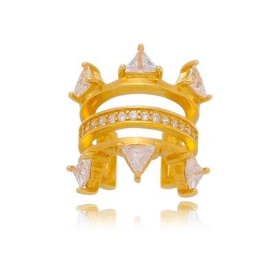 Piercing Fake Em Prata Bruna Dourado