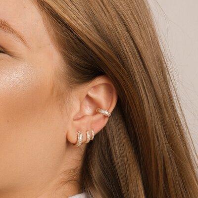 Piercing Em Prata Lara Dourado