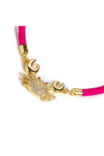 Pulseira Energy Caranquejo Pink II