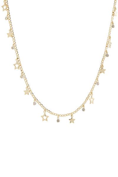 Colar Estrelas e Zircônias