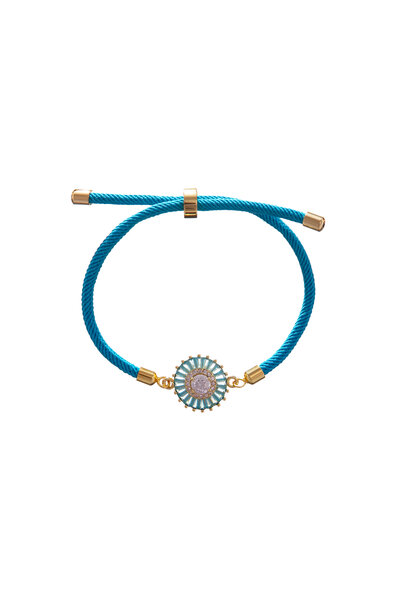 Pulseira Energy Mandala Turquesa