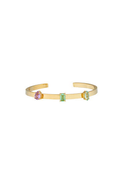 Bracelete Três Zircônias