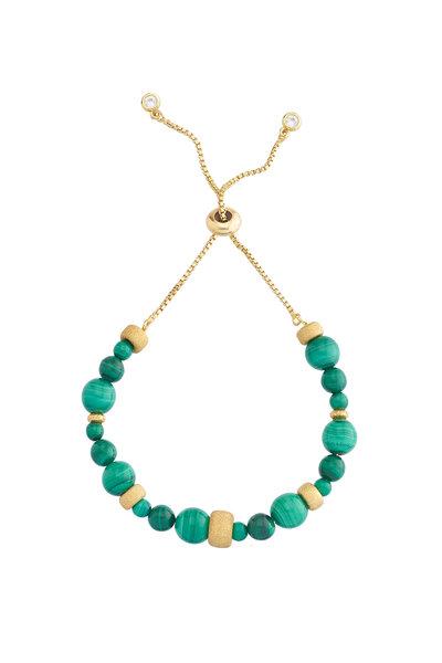 Pulseira Beads Malaquita