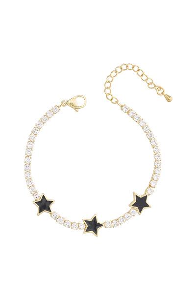 Pulseira Estrelas Esmaltadas
