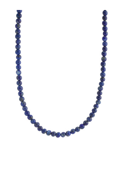 Colar Choker Lápis Lazuli M