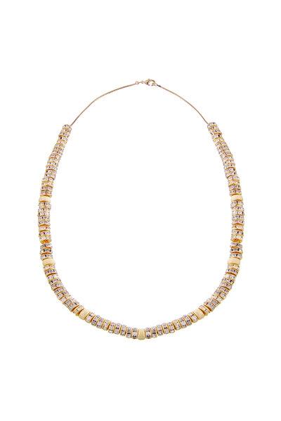 Colar Beads e Rondéis Incolores