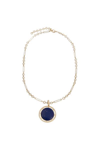Colar Elos Lapis Lazuli