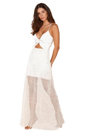 Vestido Flor Branco