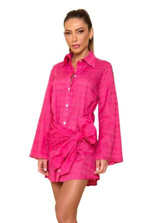 Vestido Terry Pink