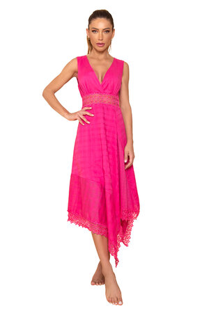 Vestido Bishop Pink