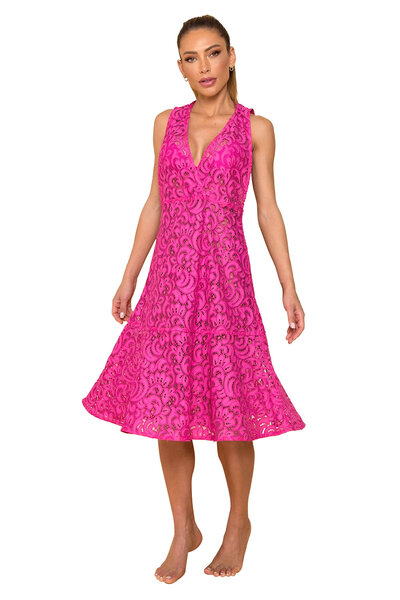 Vestido de Renda Beatrice Pink