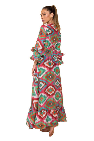 Saída May Estampada Blanket