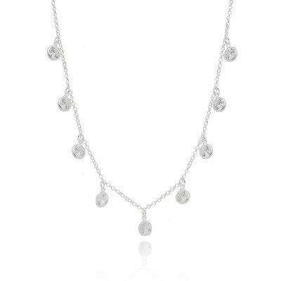 Colar Gargantilha Choker Tiffany - Prata 925