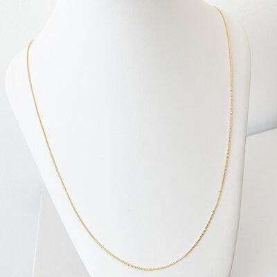 Corrente Veneziana Longo 60cm - Banho Ouro 18k