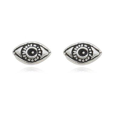 Brinquinho Olho Grego - Prata 925