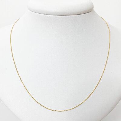 Corrente Veneziana 45cm - Banho Ouro 18k